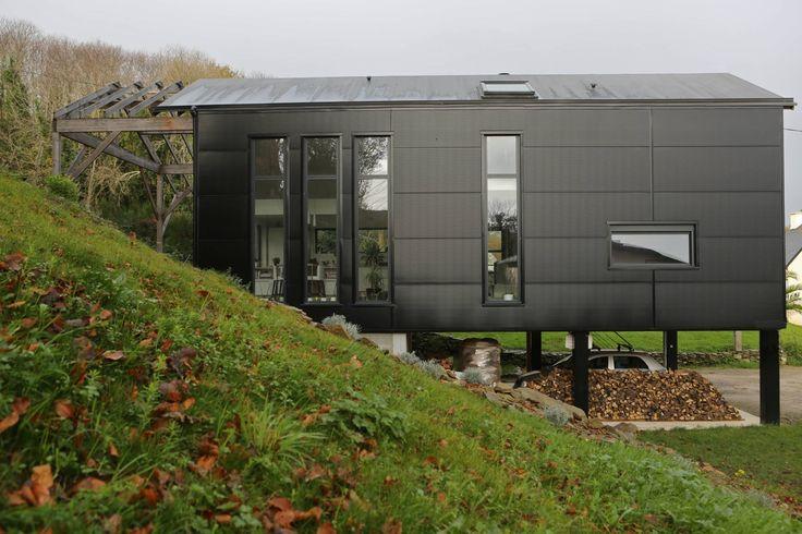 Дома в скандинавском стиле от Bertin Bichet