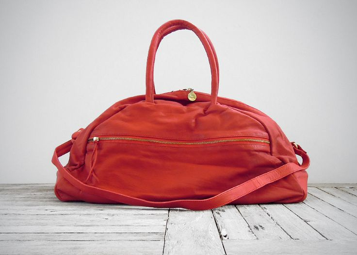 BOXEUR WEEKENDER SCARLET RED