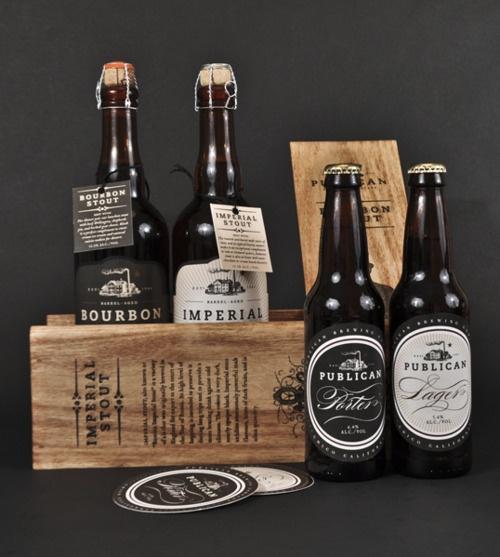 Elegant Beer Packaging