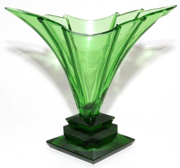 129 besten moser glas kristall kissenvasen bilder auf. Black Bedroom Furniture Sets. Home Design Ideas