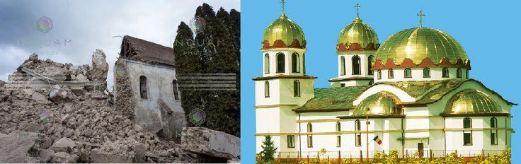 Biserici noi poleite cu aur vs. Biserici fortificate vechi de 800 ani care se dărâmă