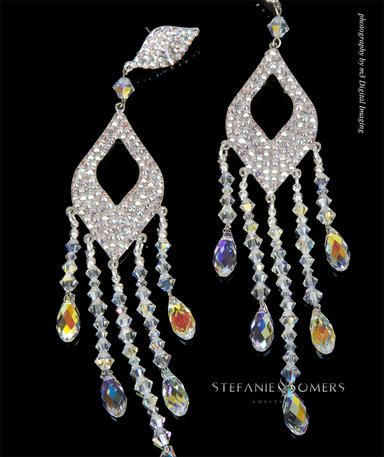 10 best Pageant Earrings by Stefanie Sommers images on Pinterest ...