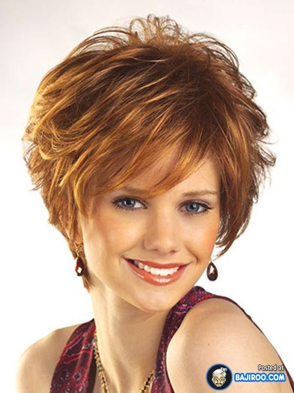 Short Haircuts For Round Faces And Thin Hair | Hairstyles for fine ...