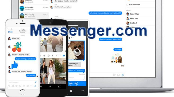 Facebook Launches Messenger for Web Browsers (Messenger.com)