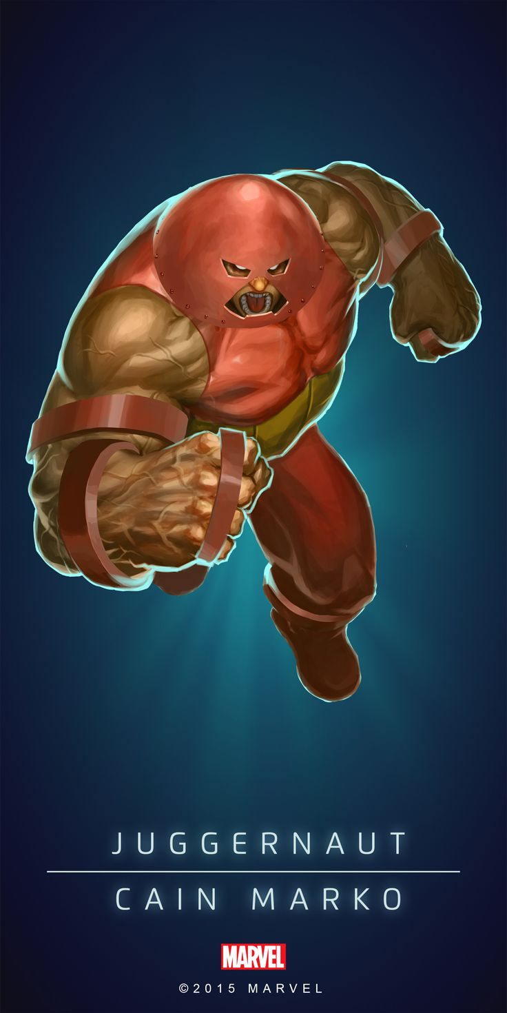 #Juggernaut #Fan #Art. (JUGGERNAUT - CAIN MARKO IN: MARVEL'S PUZZLE QUEST!) BY: AMADEUS CHO! (THE * 5 * STÅR * ÅWARD * OF: * AW YEAH, IT'S MAJOR ÅWESOMENESS!!!™) [THANK U 4 PINNING!!!<·><]<©>ÅÅÅ+(OB4E)(IT'S THE MOST ADDICTING GAME ON THE PLANET, YOU HAVE BEEN WARNED!!!)