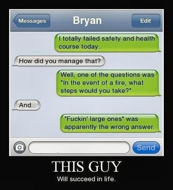 Very funny!