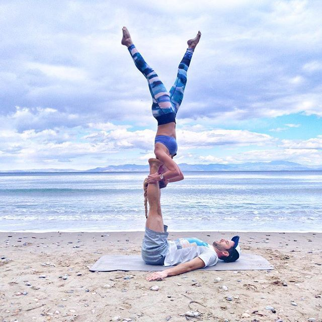 Shoulder stands on the beach! happy Friday with @angelina_pilates & @vassilis_konstantopoulos  Thanks for the DM!  @acrolifestyle . . . . . . #acroyoga #acro #acrobatics #partneryoga #acrodance #handstand #acrobody #acrolove #yogaeverywhere #yogainspiration #calisthenics #circus #gymnastics #gymnasticsshoutouts #flexible #beachyoga #gymnast #yogalove #flexibility #yoga #yogapose #acrolifestyle #yogachallenge #handstands #yogaeveryday #balance #acrobalance #yogaeverydamnday #yogalife  #2018
