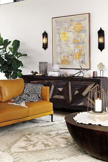gilded drop wall art