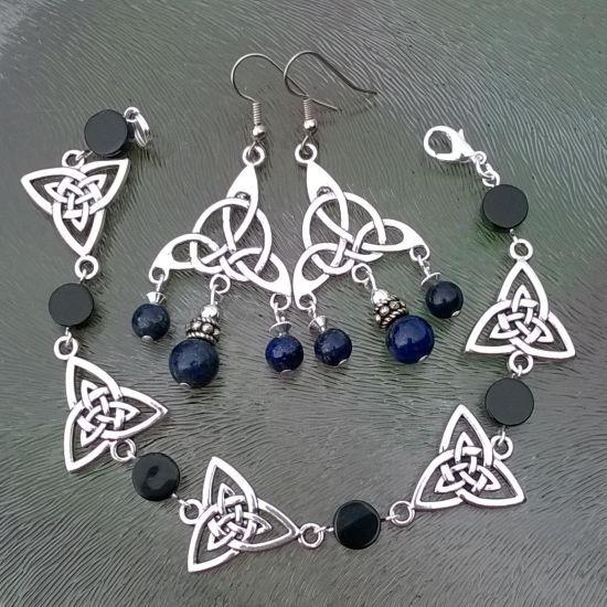 Zelf Keltische sieraden maken met edelstenen, gecombineerd met mooie…
