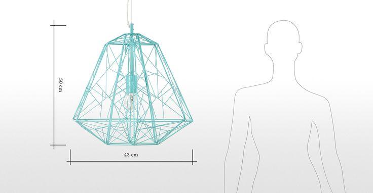Hive Pendant, Soft Green | made.com