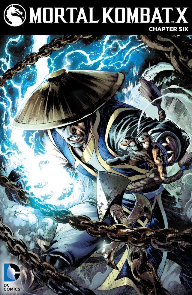 Mortal Kombat X 2015 6 Comics By Comixology Mortal Kombat Art Mortal Kombat Comics Mortal Kombat X