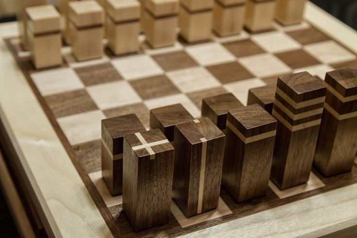 Chess Sets Design Board Games Wood Chess Board Chess Board Diy Chess Set