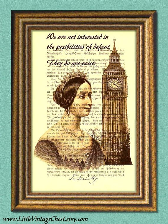 YOUNG QUEEN VICTORIA  Dictionary Art Print by littlevintagechest, $7.99