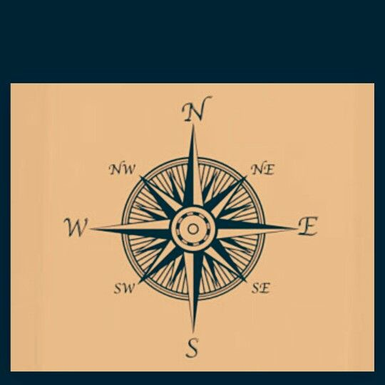 Nautical star/compass