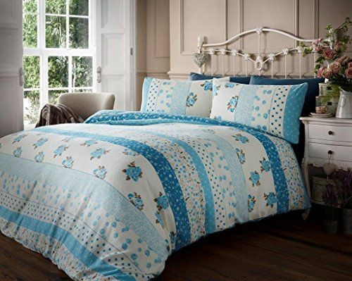from flannelette duvet cover set king size with pillowcases quilt bedding set reversible 100
