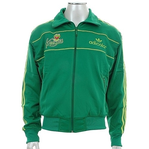 sweet - Kermit The Frog Adidas Track Jacket