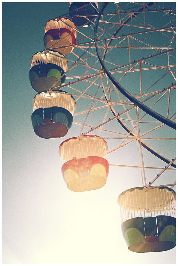 I love Ferris Wheels and want to go on one soon, it has been years...( check ) March 2015