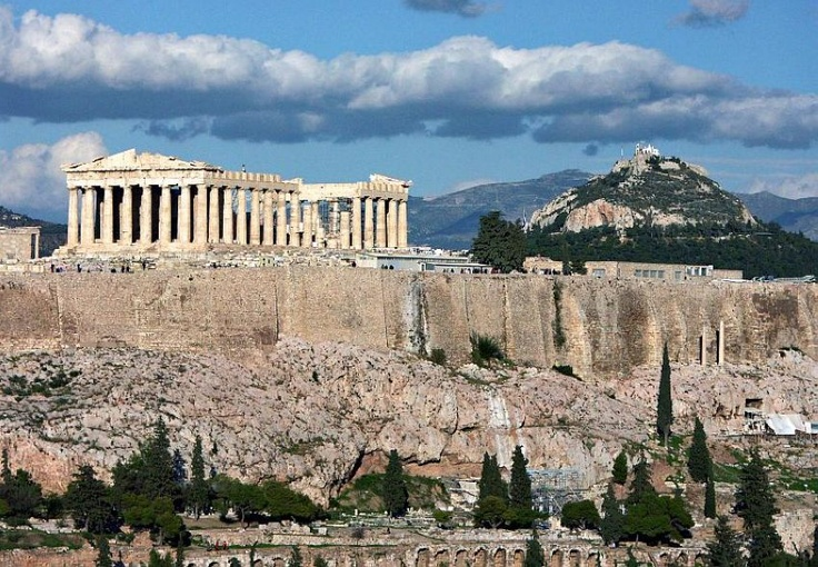Athenian Acropolis, Greece