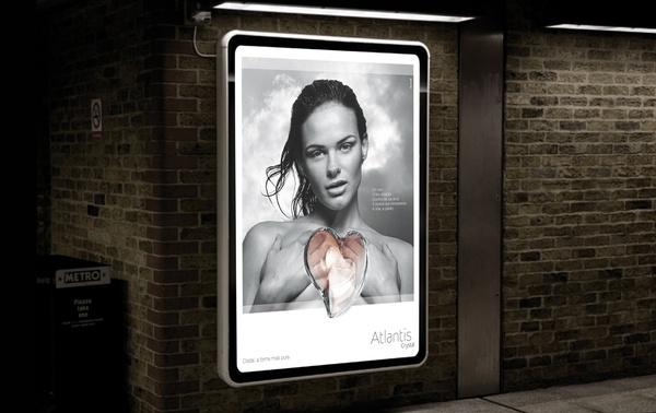 Atlantis & Vista Alegre advertising by Julio Ferreira, via Behance