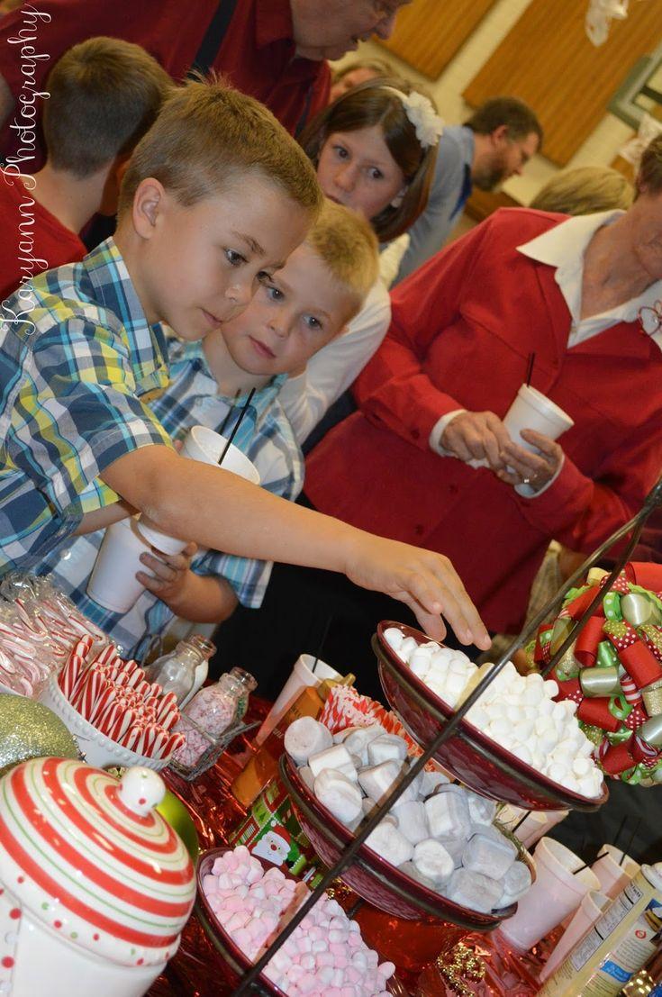 Jenkins Kid Farm: Polar Express Ward Christmas Party