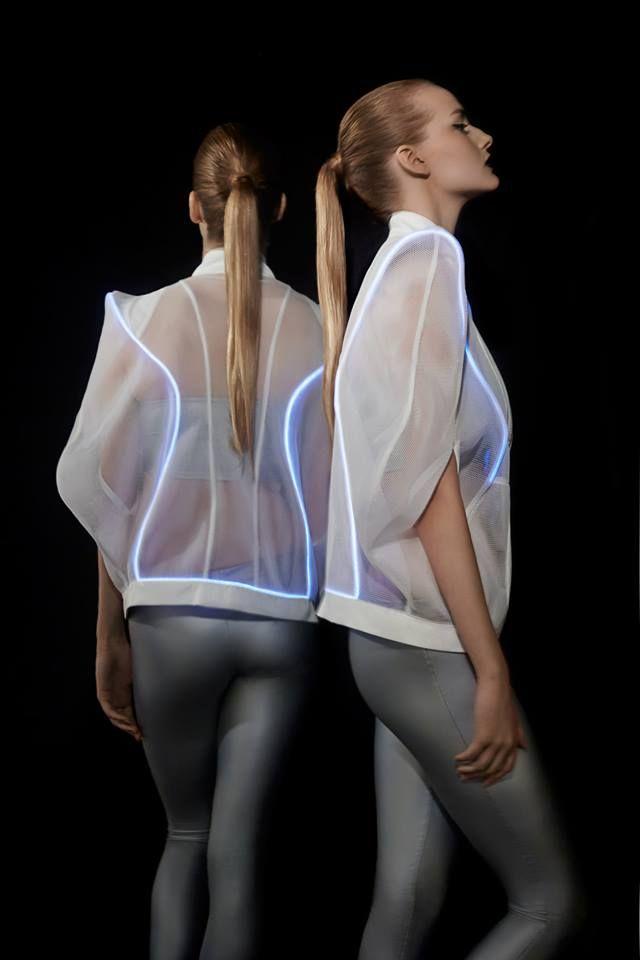 #ranitasobanska #LED #photo #session #sportfashion #new #technology #rs #new #trend #ss15 #newcollection