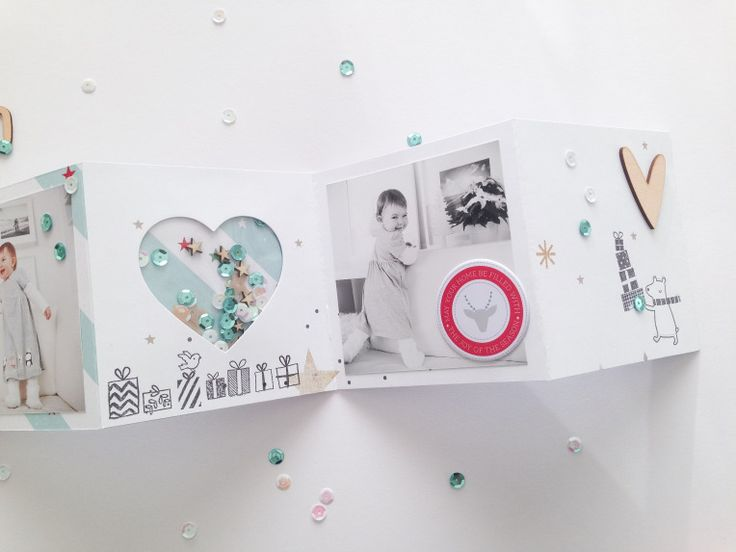 Adventskalender 2015 - Türchen 16 - Mini mit Pinkfresh Studio Christmas Wishes von Ulrike Dold