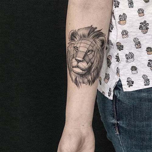 geometrik bilek dövmeleri geometric wrist tattoos 29