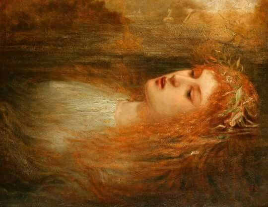 Ophelia by Sir John Everett Millais