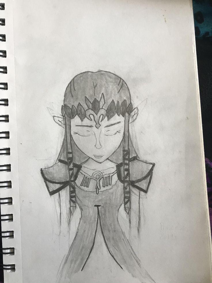 zelda drawing blazezelda drawings