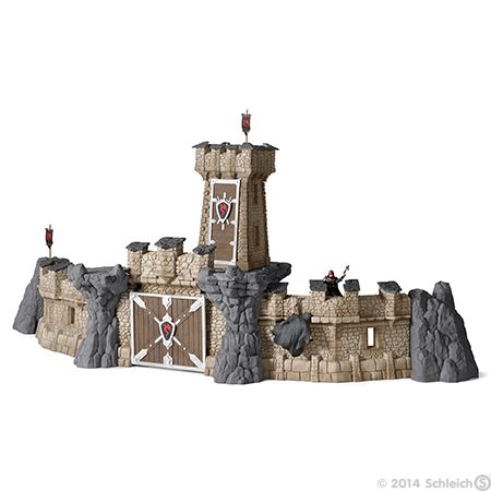 New Schleich knights accessories of 2014                     Big knight's castle