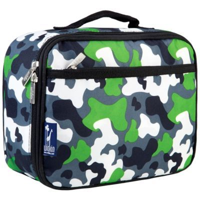 6d67cd1cd1ff Wildkin Camo Lunch Box In Green | Products | Insulated lunch box ...