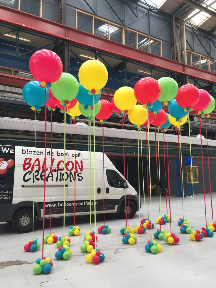 Cloudbusters balloons