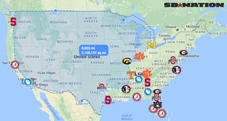Here's how long it's been since every state last had a star college football recruit - SBNation.com