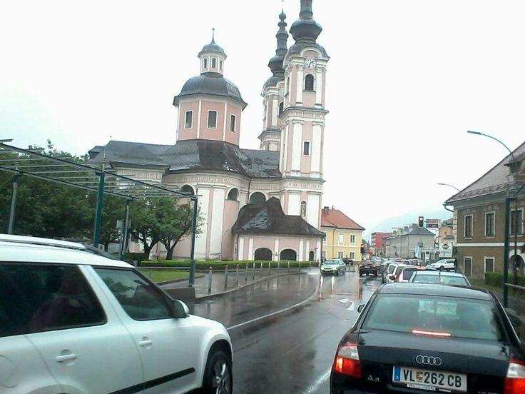 Villach centro Austria