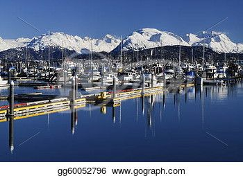 """Homer boat marina in Alaska"" -Alaska Stock Photo from gograph.com"