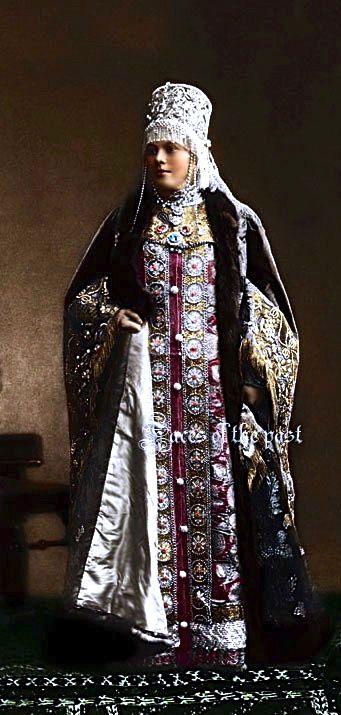 Madame Natalia Fyodorovna Vonlyarskaya at the Winter Palace Costume Ball of 1903. by ~VelkokneznaMaria