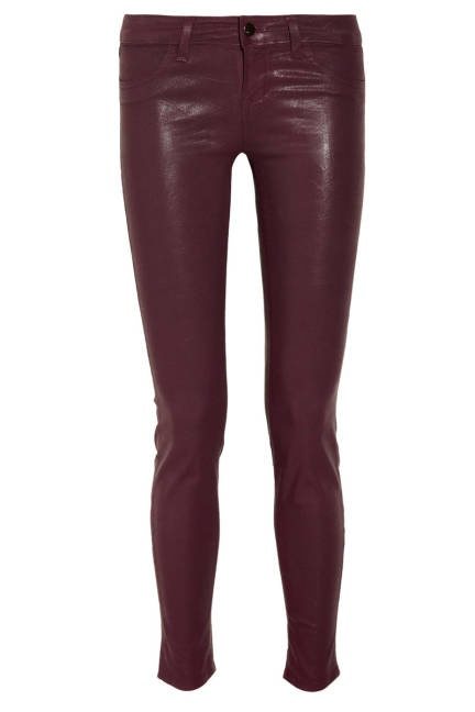 Oxblood jeans cute for fall and spring.