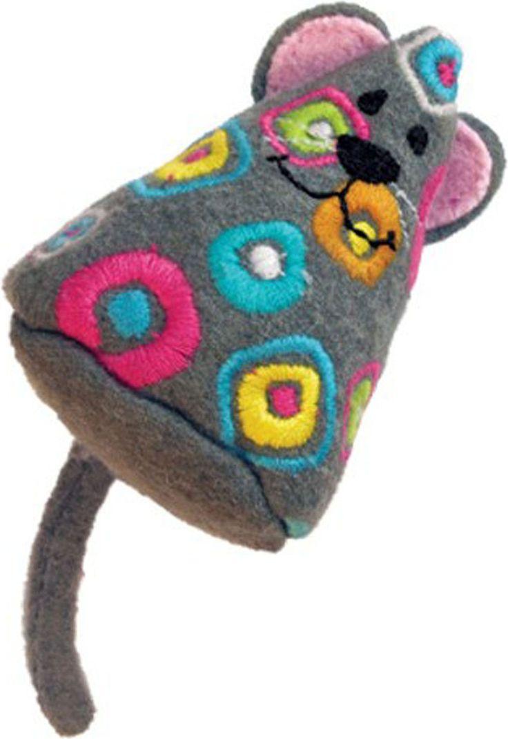 Tropics Mouse W Catnip Cat Toy