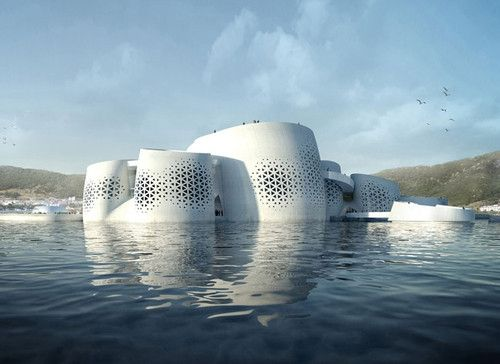 Futuristic Architecture, The Living Ocean and Coast, SOMA architects, Yeosu, South Korea, pavilion, future architecture by FuturisticNews.com