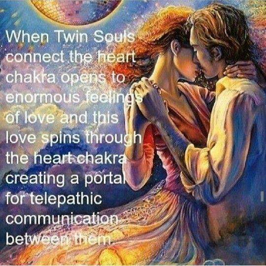 "The simplest understanding is that we are all aspects of a singular consciousness. However, I just spent the day reading about ""Twin Flames"". The concept was entirely new to me but is quickly finding a place in my worldview."