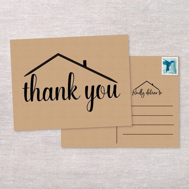 real estate postcard thank you cards greeting cards real