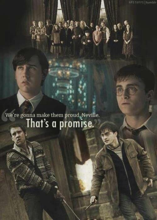 Neville Longbottom and Harry Potter