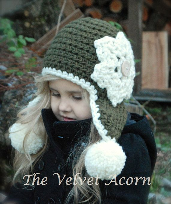 Crochet PATTERNThe Wynter Hat Toddler Child and Adult sizes by Thevelvetacorn Just bought the pattern