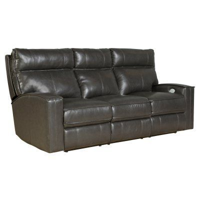 Barcalounger Pembrooke Power Reclining Sofa with Power Head Rests - 39PH3173370095, Durable