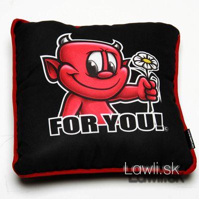 Vankúšik For You! - Darčeky na valentín. http://www.lawli.sk/darcek/eshop/35-1-Valentinske-darceky