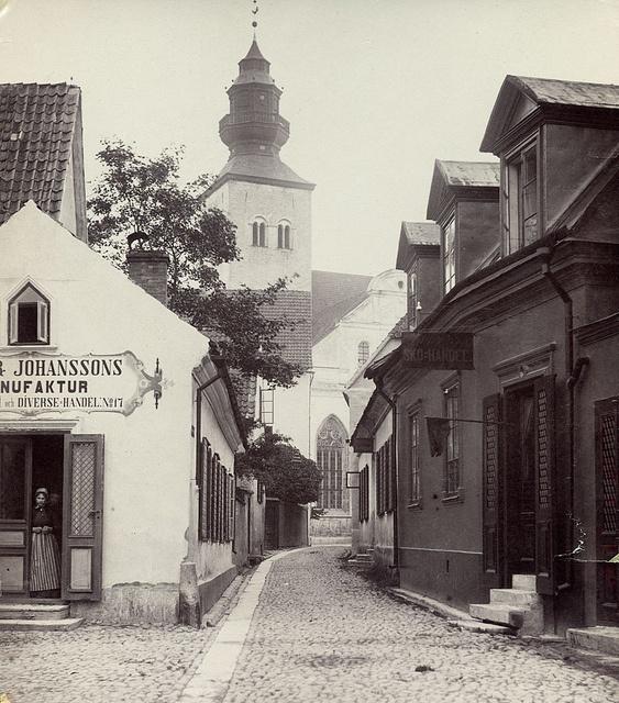 Visby, Gotland, Sweden by Swedish National Heritage Board, via Flickr