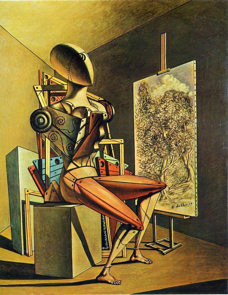 Afbeeldingsresultaat voor Altered rêve (1913) chirico