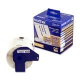 Brother - Shipping Label Tape Cartridge - White