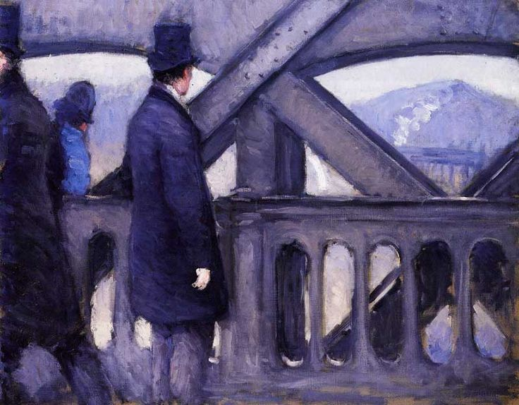 The Pont de Europe (study) - Gustave Caillebotte