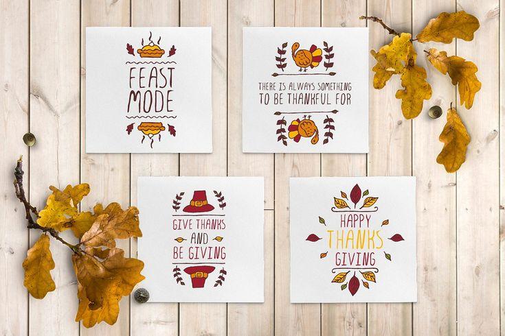 50 Thanksgiving greeting cards
